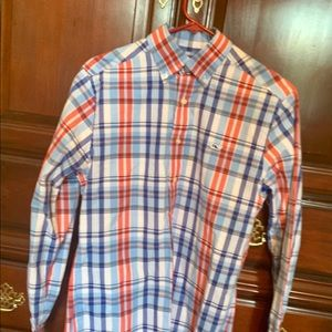 Vineyard Vines classic plaid shirt